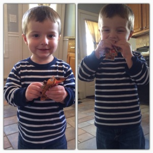My son loves the peanut butter and chocolate chip LARABAR