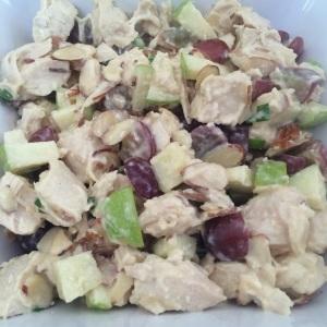 Creamy Chicken Salad www.foreverfitmom.net