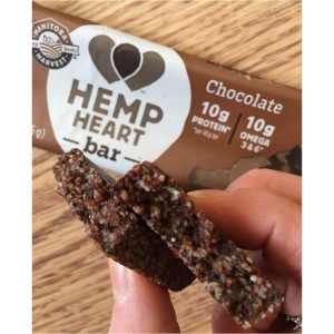 Chocolate Hemp Heart Bar