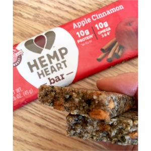 Apple Cinnamon Hemp Heart Bar