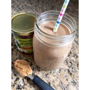 Honey Peanutty Coffee Shake