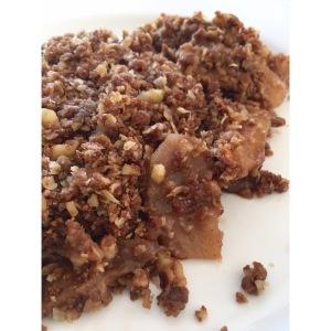 Maple Walnut Apple Crisp